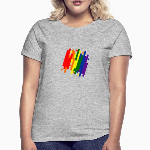 Abstract Pride Design - Women's T-Shirt
