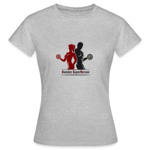 Sweden SuperHeroes - T-shirt dam