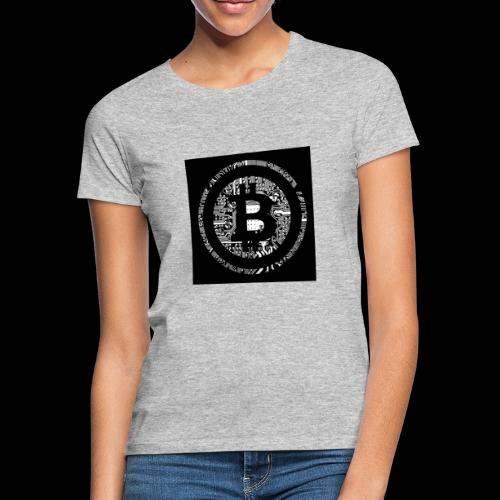 bitcoin logo - Frauen T-Shirt