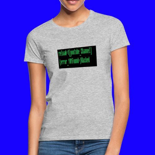 Reload youtube classic Crafttino21 merch - Frauen T-Shirt