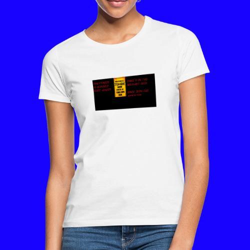 Zombie apokalypse by> - Frauen T-Shirt
