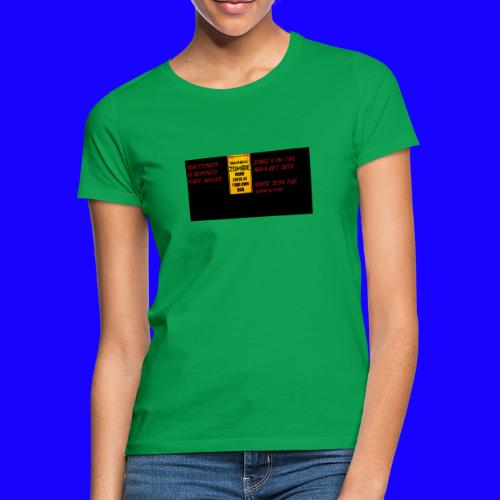 Zombie apokalypse by> - Frauen T-Shirt