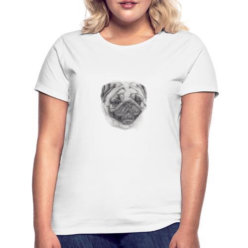 Pug mops 2 - Dame-T-shirt