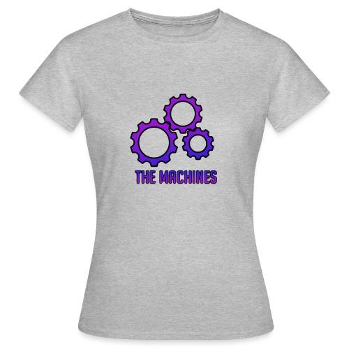 The machines logo - T-skjorte for kvinner
