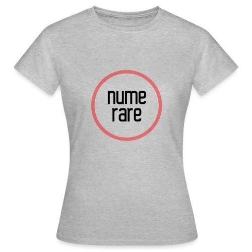 numerare svg - Naisten t-paita