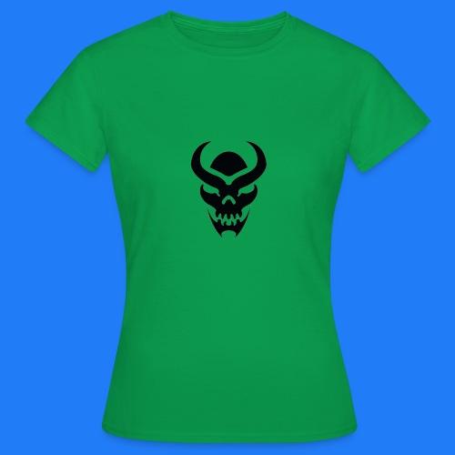 TRIBAL SKULL NOIR - T-shirt Femme