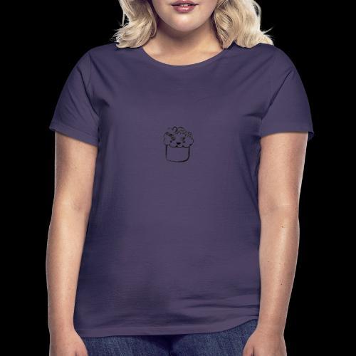 muffin herz - Frauen T-Shirt
