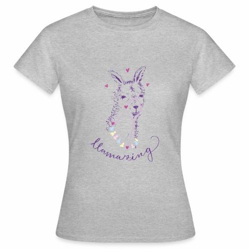 llama - Frauen T-Shirt
