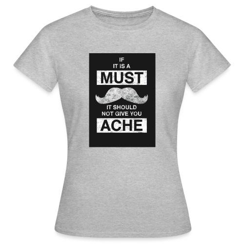MUSTACHES 2 - Naisten t-paita
