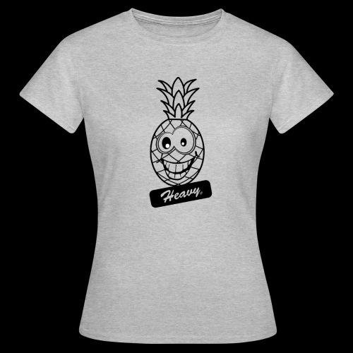 Design Ananas Heavy - T-shirt Femme