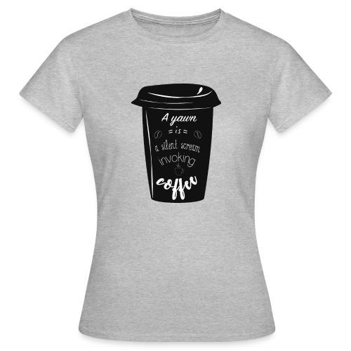 Coffee - Maglietta da donna