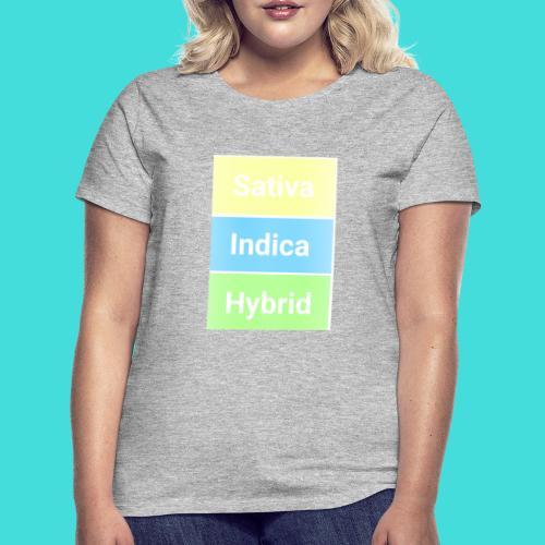 Sativa indica hybrid - Women's T-Shirt