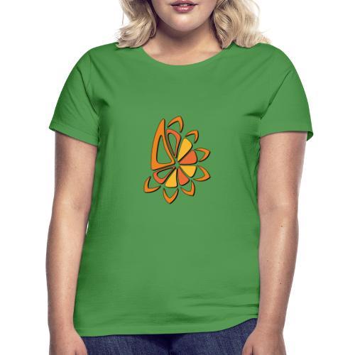 spicchi di sole caldo multicolore - Maglietta da donna