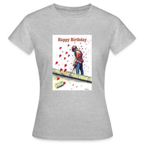 Arborist Tree Surgeon Chainsaw - Women's T-Shirt
