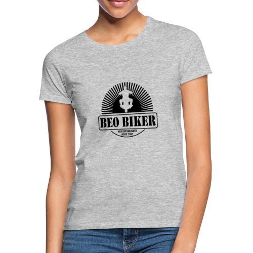Logo Beo Biker Black - Frauen T-Shirt