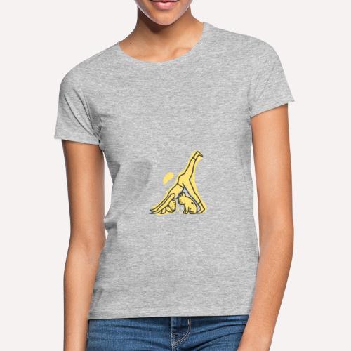 Yoga Pose Downward Facing Dog T-shirt Print - Women's T-Shirt
