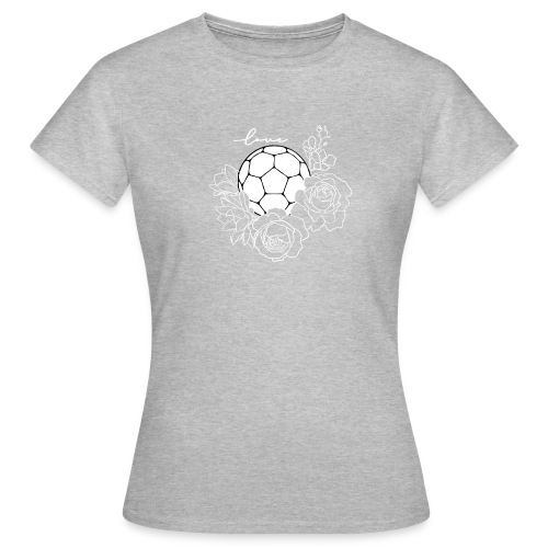 Handball Floral - Frauen T-Shirt