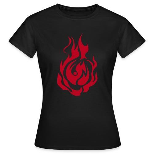 feu - T-shirt Femme