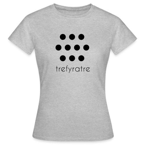 trefyratre - T-shirt dam