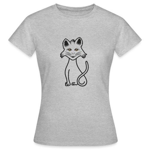 gatto nero - Maglietta da donna