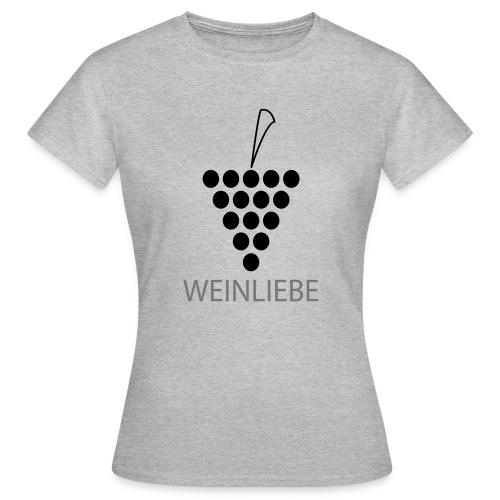 Weinliebe - Frauen T-Shirt