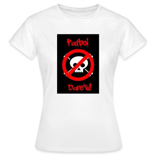 Fatboi Dares's logo - Women's T-Shirt