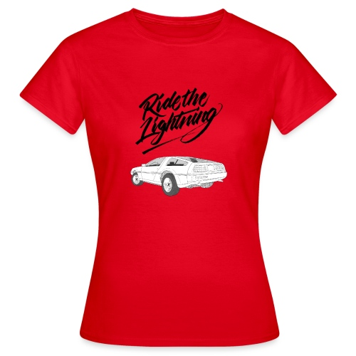 Delorean – Ride The Lightning - Frauen T-Shirt