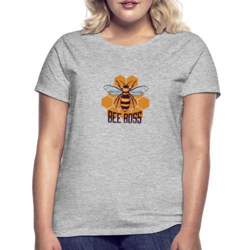 Bee Boss Biene Bienenkönigin Waben - Frauen T-Shirt