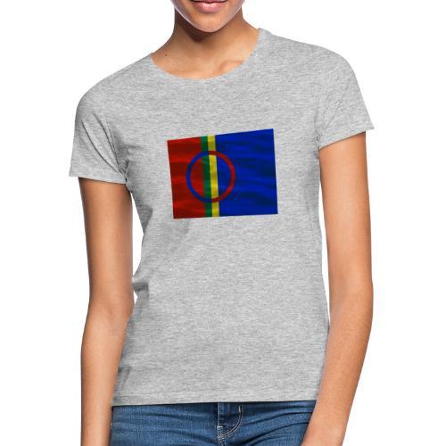 Sapmi flag - T-skjorte for kvinner