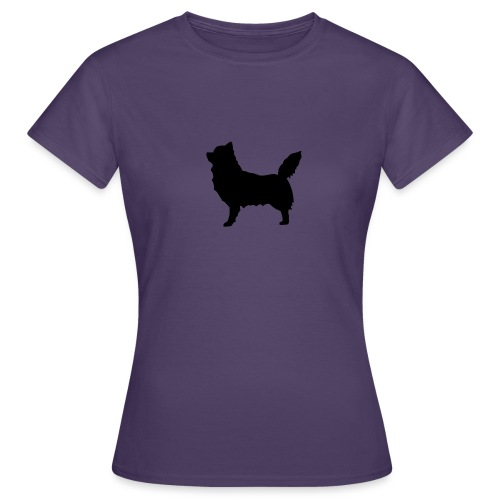 Chihuahua pitkakarva musta - Naisten t-paita
