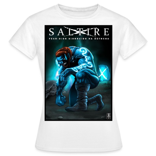 Saltire Invasion Gaelic - Women's T-Shirt