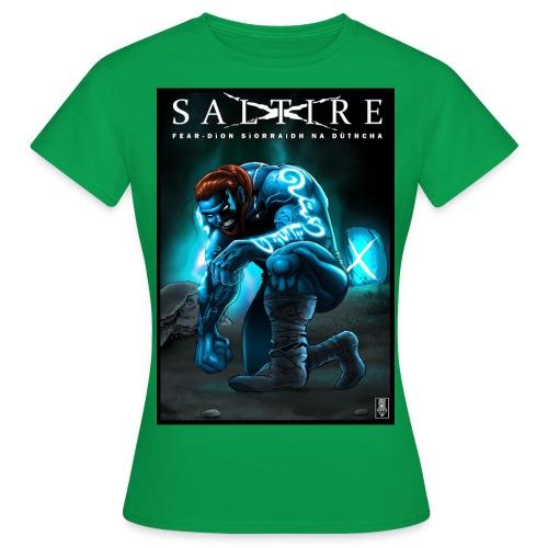 Saltire Invasion Gaelic - Women's T-Shirt