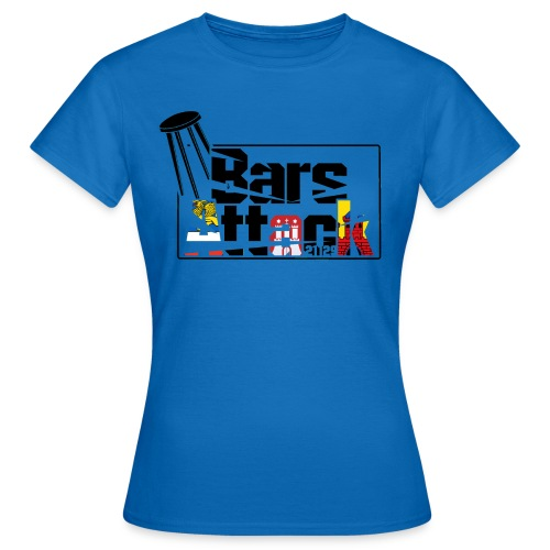 BarsAttack Rostock-Hamburg-Oldenburg Edition - Frauen T-Shirt