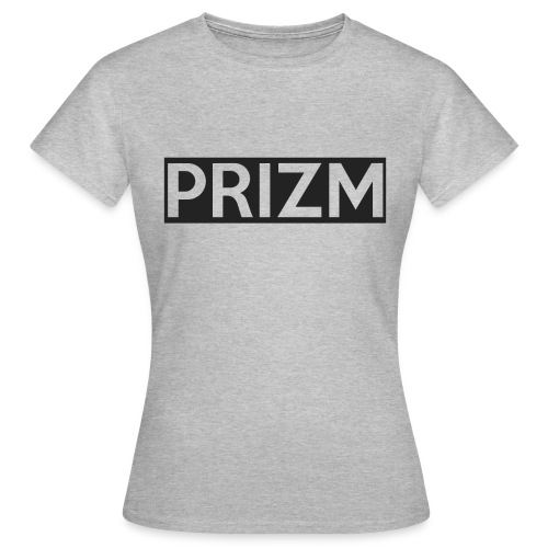Prizm Logo (Grey) - Women's T-Shirt
