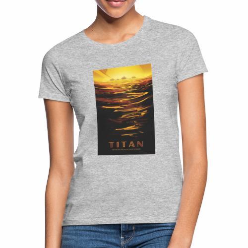 Vision du futur sur Titan - T-shirt Femme