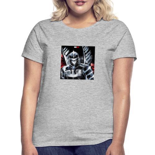 koszulka patriotyczna husaria - Koszulka damska