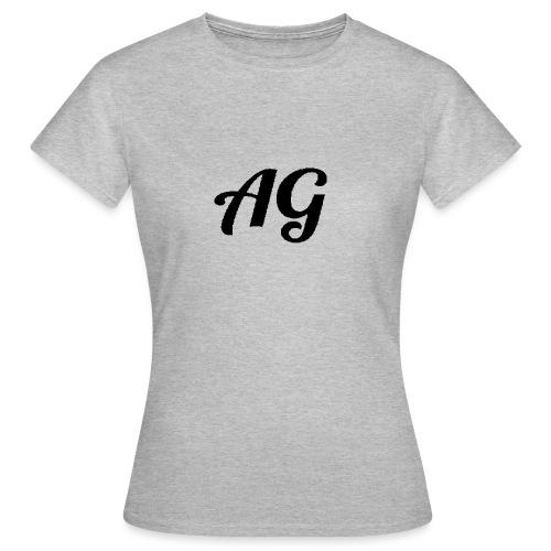 Zwarte Letters - Vrouwen T-shirt