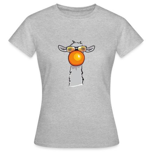 Chewing Llama - Frauen T-Shirt