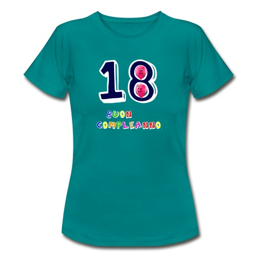 18 BUON compleanno - Maglietta da donna