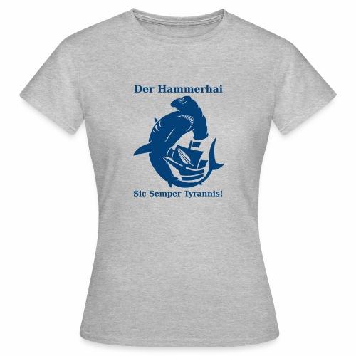 hammerhai blau - Frauen T-Shirt