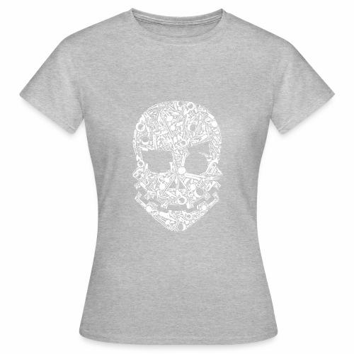 Tete instrument Blanc - T-shirt Femme
