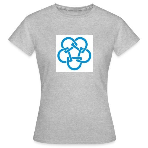 Diabetesf--rbundet_blomma__webb_pms - T-shirt dam