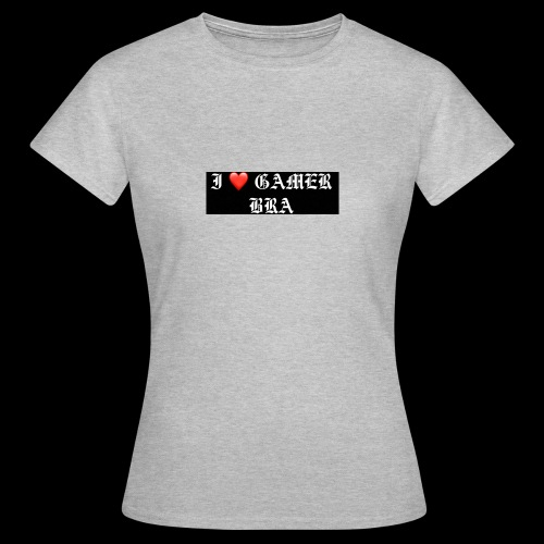 GAMER BRA YT - Frauen T-Shirt