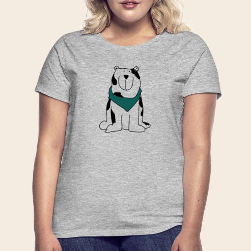 Gros chien mignon - T-shirt Femme