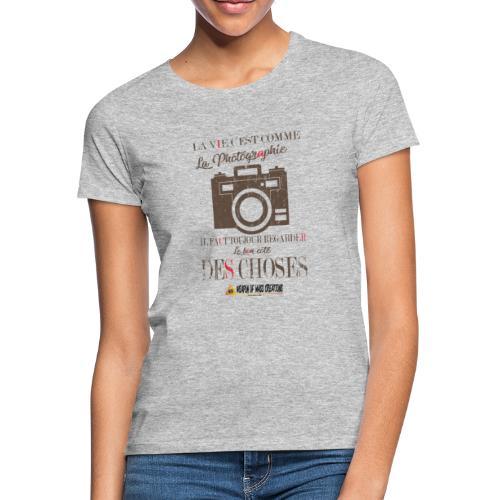 WEAPON OF MASS CREATIONS - La vie - T-shirt Femme