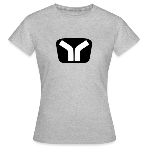 Yugo Logo Black-White Design - Women's T-Shirt