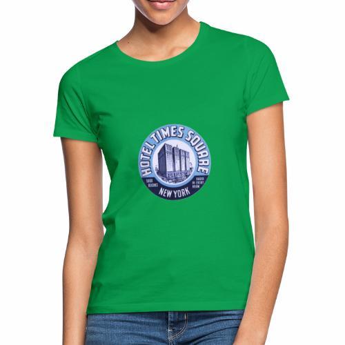 VINTAGE TIME SQUARE - T-shirt Femme
