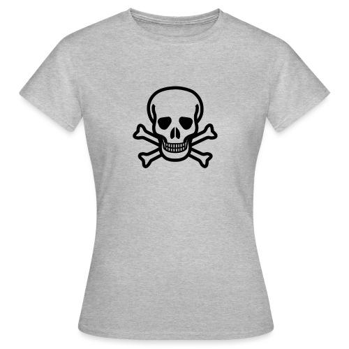 Skull and Bones - Frauen T-Shirt