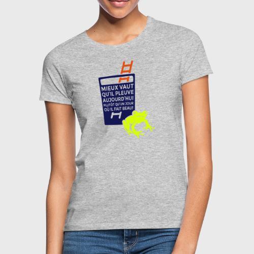Fête à la grenouille - T-shirt Femme