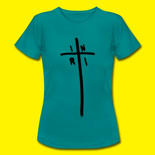 Cross - INRI (Jesus of Nazareth King of Jews) - Women's T-Shirt